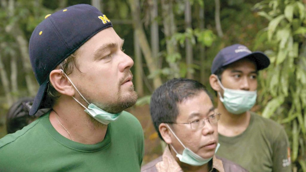 Leonardo DiCaprio in Before the Flood